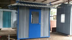 Custom Heavy Duty Guard House Cabin 3