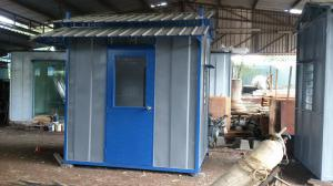 Custom Heavy Duty Guard House Cabin 7