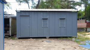 Heavy Duty Office Cabin with Roof Top 1