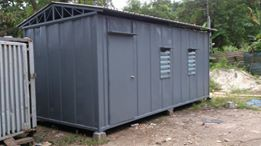 Heavy Duty Office Cabin with Roof Top 2